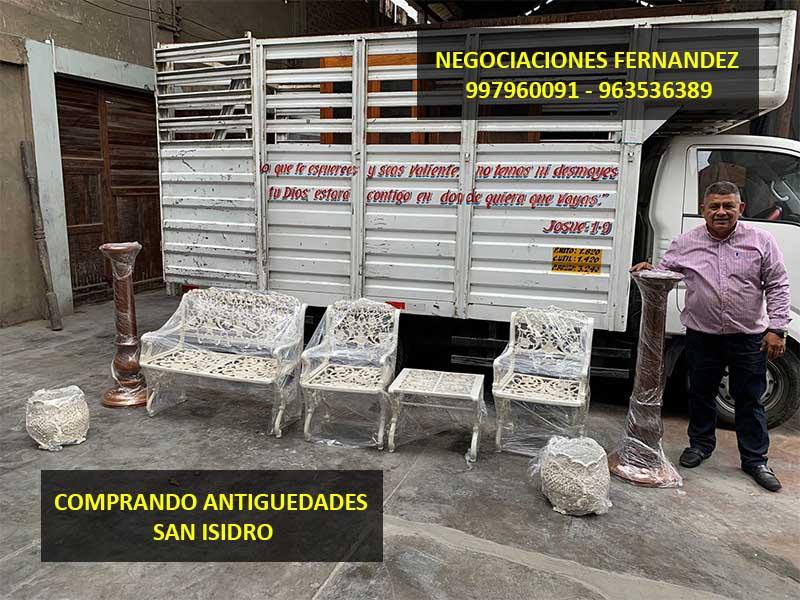 Comprando en La Molina
